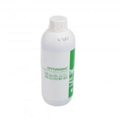 Концентрированное дезинфицирующее средство с моющим эффектом ОПТИМАКС 1л (зел.)