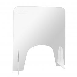 Экран защитный настольный 600х650 мм