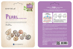 Тканевая маска для лица с экстрактом жемчуга S+miracle Pearl Essence Mask 25 г