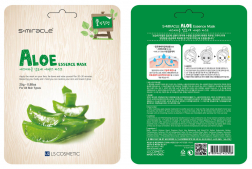 Тканевая маска для лица с экстрактом алоэ S+miracle Aloe Essence Mask 25 г
