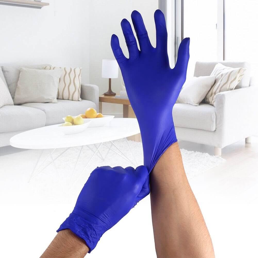 Резиновые перчатки для защиты рук