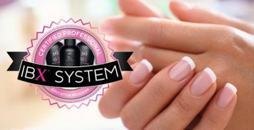 Укрепление ногтей системой IBX