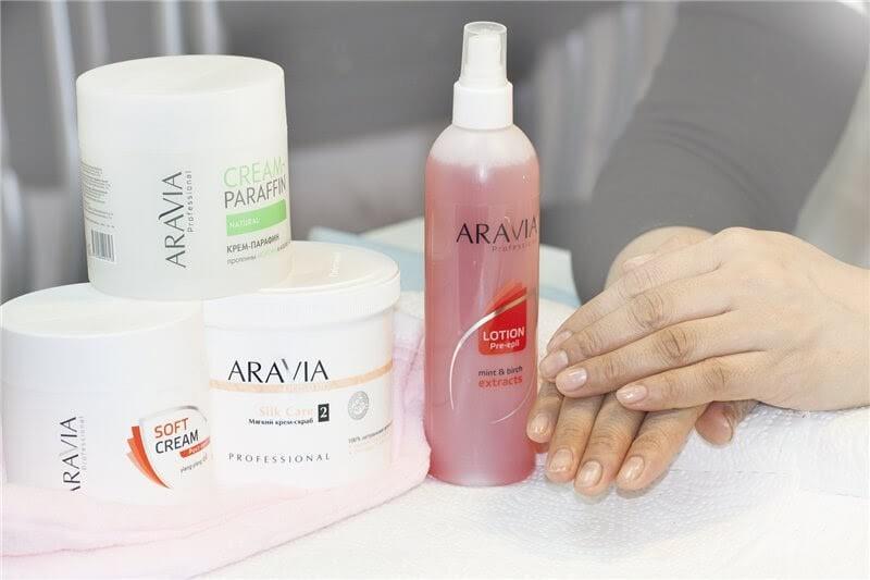 Средства для ухода за ногтями и кожей рук