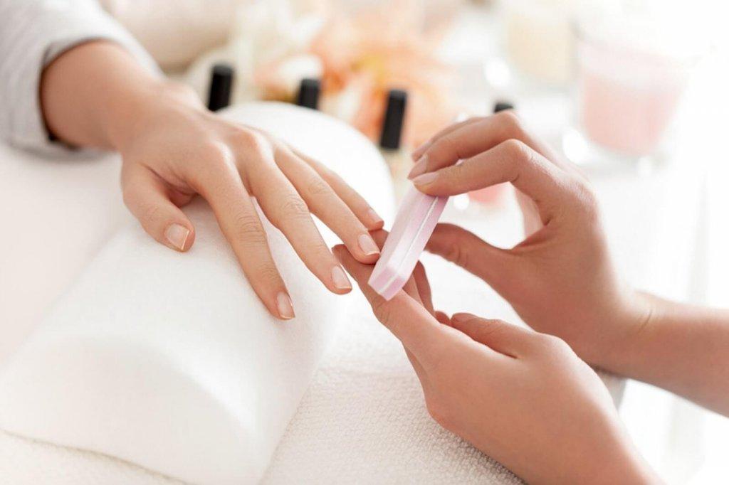 Опил формы ногтей