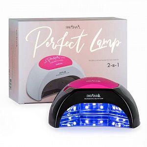 Лампа UV/LED Perfect Lamp 2+ 48 Вт с тремя подушечками черная ParisNail