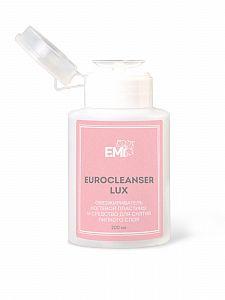 Средство для обезжиривания и снятия л/с с помпой Eurocleanser Lux E.MiLac 200 мл